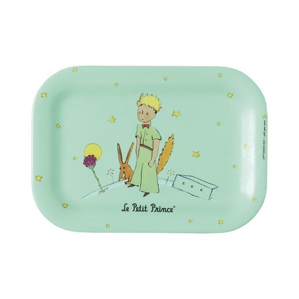 Kleines Tablett grün Der kleine Prinz