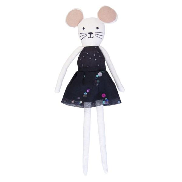 Maus Lola schwarz