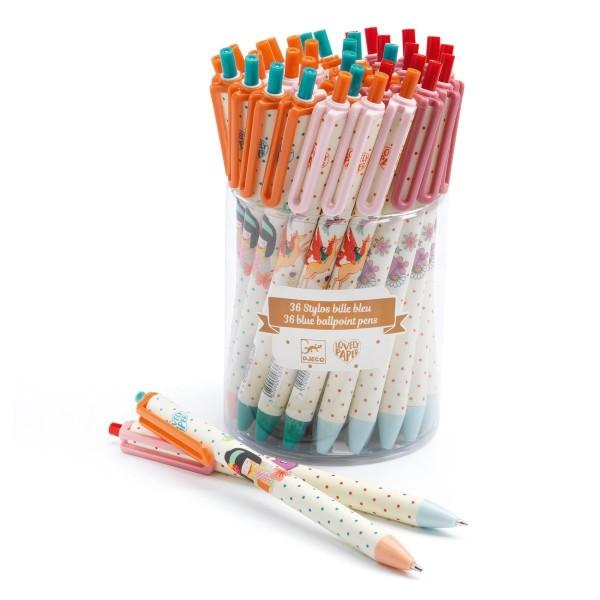 36 Kugelschreiber