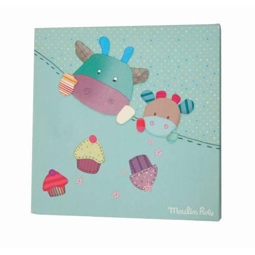 Kinderzimmer Marken | Les Jolis Pas Beaux Bild Blau Kinderzimmer Moulin Roty Marken