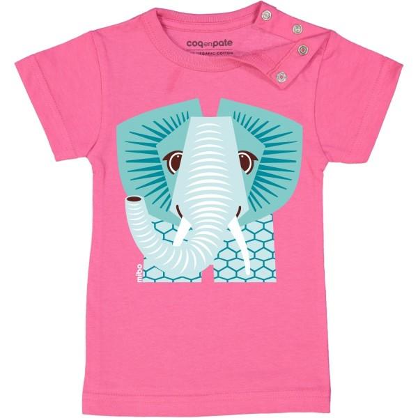 Kurzarm T-Shirt Elefant 1 Jahr