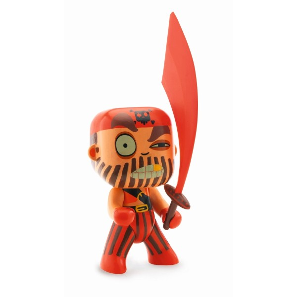 Arty Toys Pirat Captain red