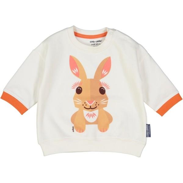 Sweatshirt MIBO Hase 12 Monate