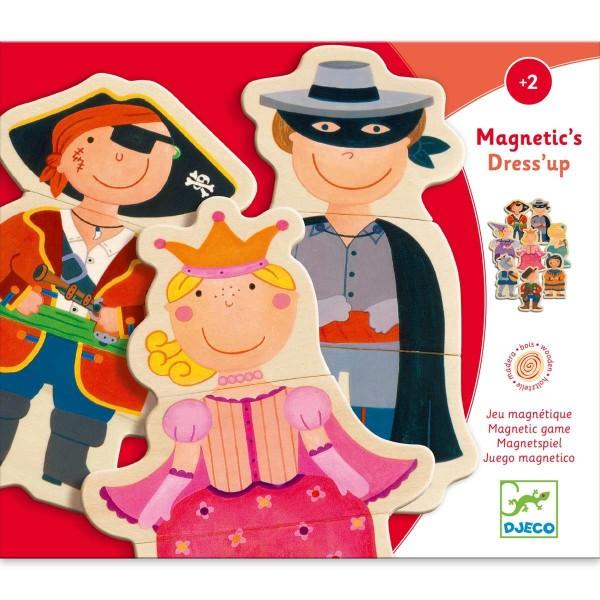 Holz Magnete - Verkleidete Kinder