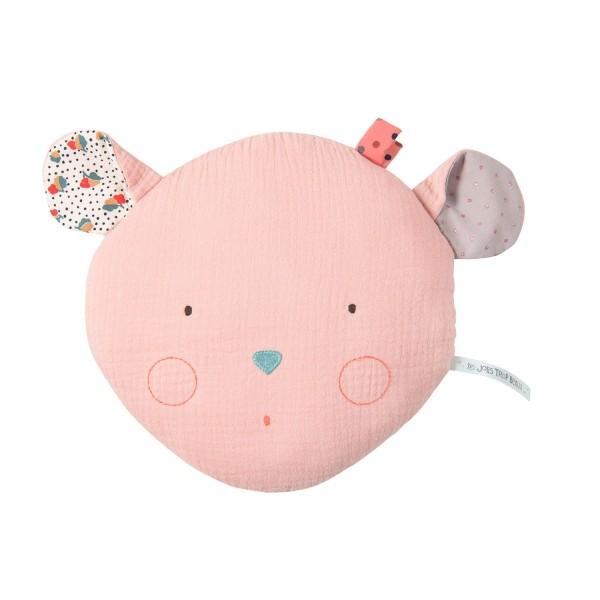 Kissen rosa Maus