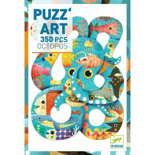 DJECO PUZZ''Art Oktopus - 350 Teile