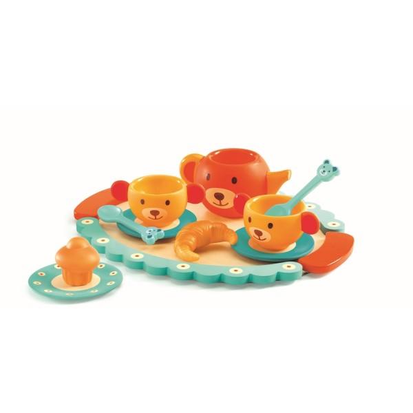Rollenspiel Teddy''s party 11-teilig