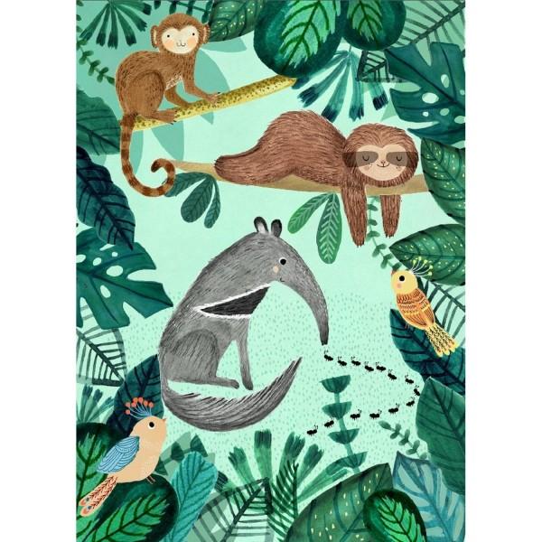 Poster Ameisenbär & Faultier