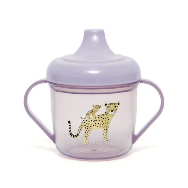 "Trinklernbecher ""Leopard"" rosa"