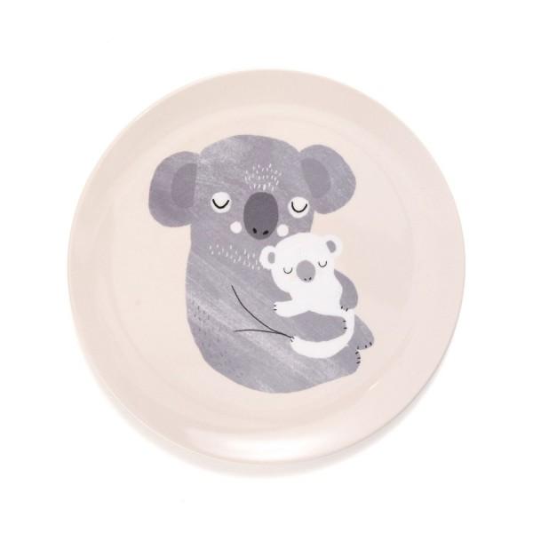 Melamin Teller Koala flach