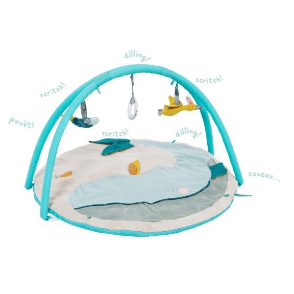 Spieldecke mit Baby-Gym Le Voyage d''Olga