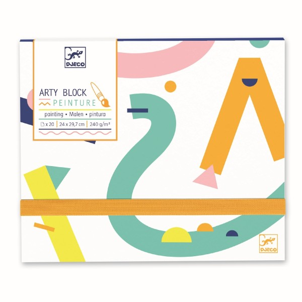 Arty block - Malpapier