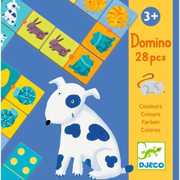 Domino Bunte Tiere