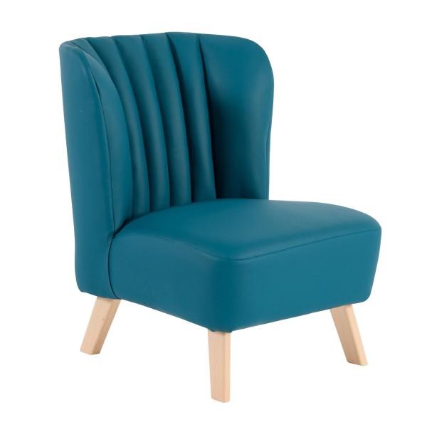 Sessel blau