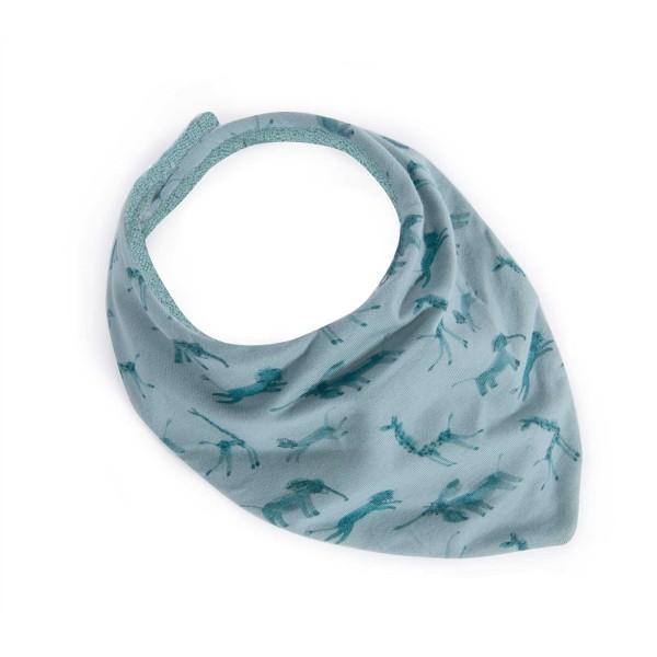 Bandana-Lätzchen blau