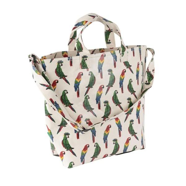 Strandtasche Papagei