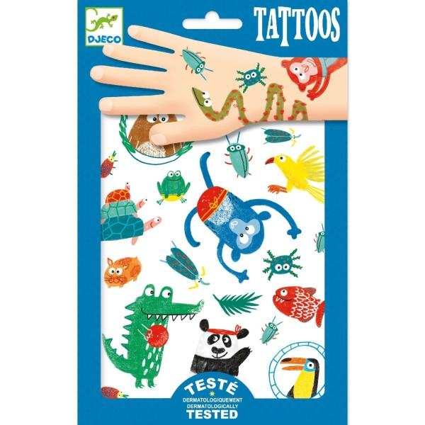 DJECO Tattoos: Tiere