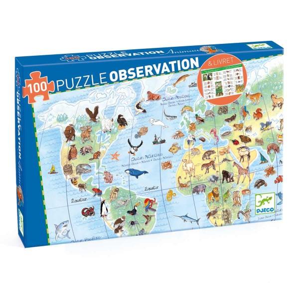 Puzzle: Planet Tieren 100 Teile