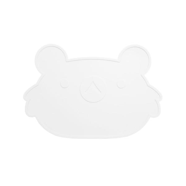 Koala Platzset in Weiß