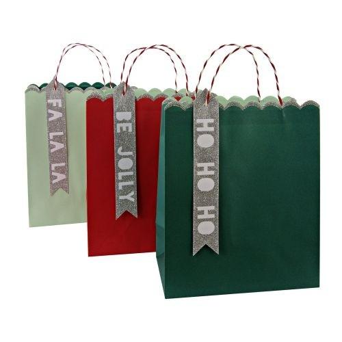 Geschenktüten, 3er Set, groß