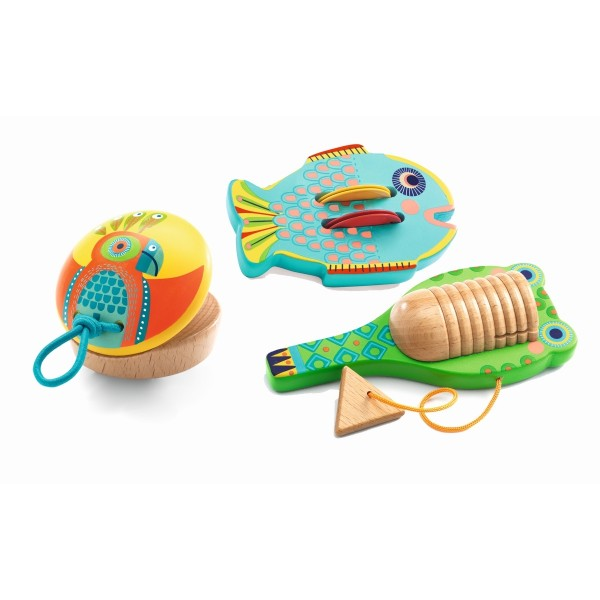Animambo: 3 Instrumente
