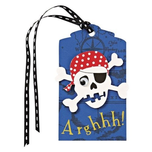 Geschenkanhänger Piraten