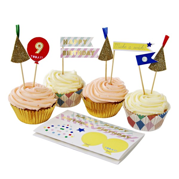 Toot Sweet Cupcake Kit, Harlequin