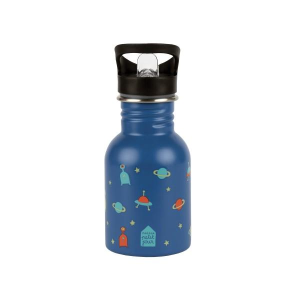 Edelstahl Flasche 0,35L Galaxie