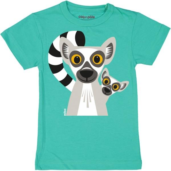 Kurzarm T-Shirt Lemur 1 Jahr