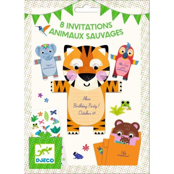 Geburtstag Einladungskarten Tiere