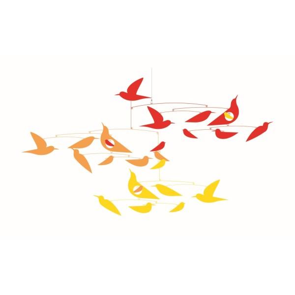 Mobile Japanische Vögel