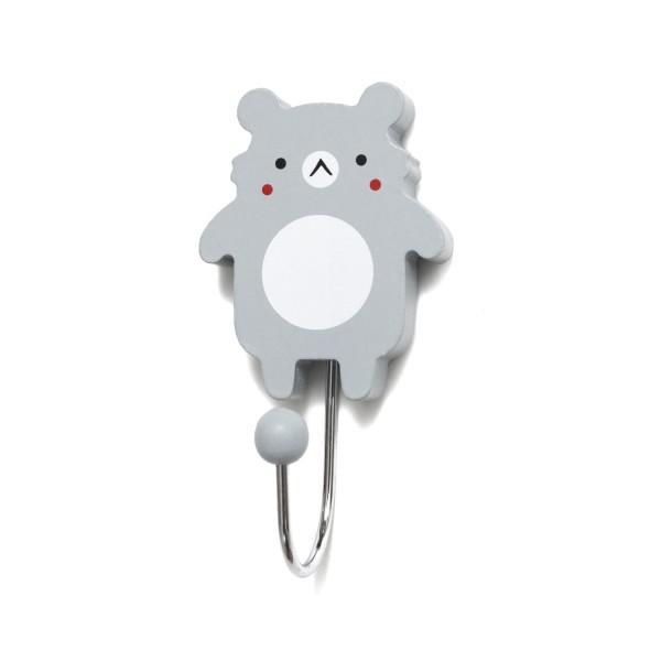 Wandhaken grau Kleiner Koala