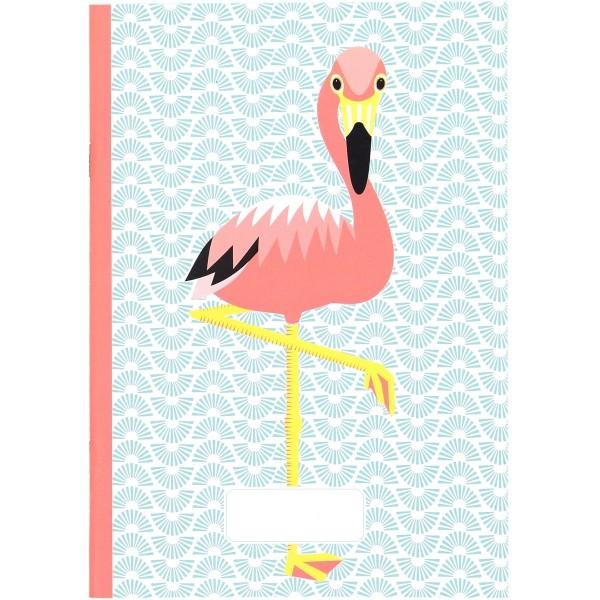 Notizbuch - A5 - MIBO - Flamingo