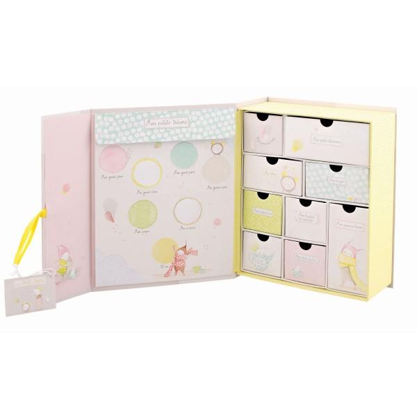 MOULIN ROTY Geburts Geschenke Box - FR