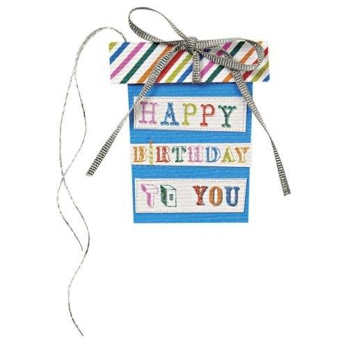 Geschenkanhänger Happy Birthday