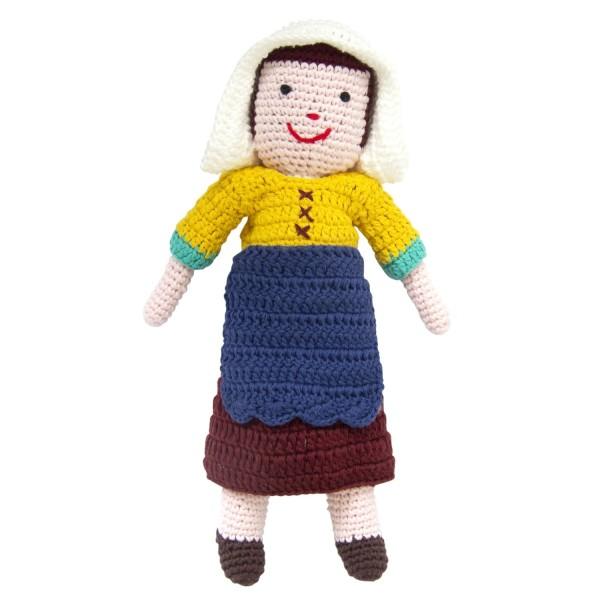 Häkelfigur Vermeer - Milchmädchen