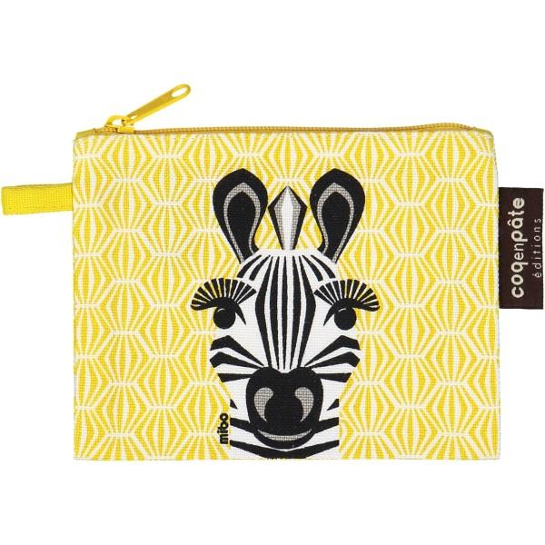 Geldbeutel - MIBO - Zebra